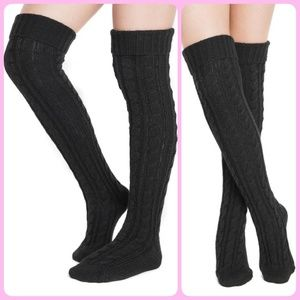MUK LUKS Over The Knee Socks